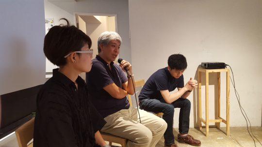 先日のPlus-handicap Session #7 の一コマ